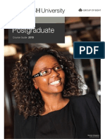 Monash Law Postgraduate Course Guide 2013