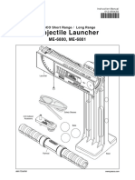 Projectile Launcher Manual ME 6800