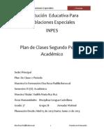 Plan de Clases Segundo Periodo Academico 2013 Final