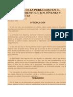 INFLUENCIA DE LA PUBLICIDAD EN EL COMPORTAMIENTO DE LOS JÓVENES Y A.doc