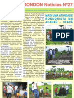 Ceará Rondon Notícias N27