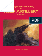Organizational History of the Field Artillery