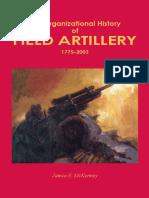 Organizational History of the Field Artillery