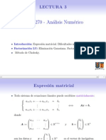MAT270-L3 Ecuaciones Lineales-Metodos Directos