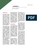 Manifiesto Laboral (2013)