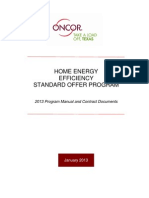 Oncor - Home Energy Efficiency Standard Offer Program