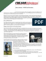 2.Basestation - VSWR Test Procedure