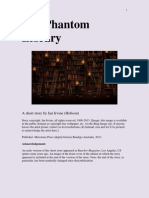 The Phantom Library (a short story by Ian Irvine (Hobson)