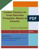 Cambio Climatico en Areas Protegidas