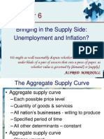 6.Supply Side Unemployment and Inflation