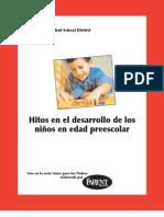 Hitos en El Desarrollo de Los Ninos en Edad Preescolar