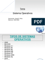 Tema Sistema Operativo