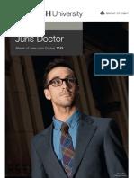 Monash Law Juris Doctor Course Guide 2013