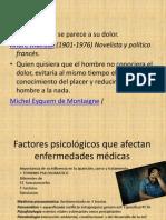 Trastonrnos psicológicos que afectan enfermedades médicas