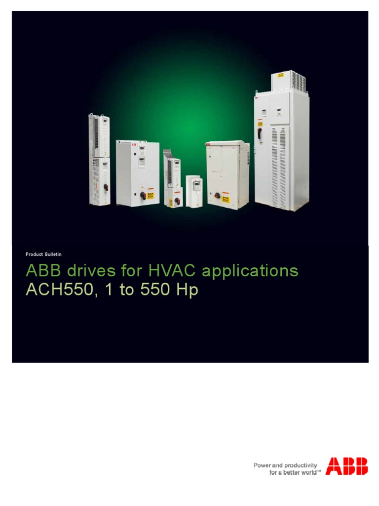 ACH550 HVAC Application | Electromagnetic Interference | Electromagnetic  Compatibility
