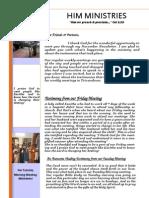 Newsletter Nov