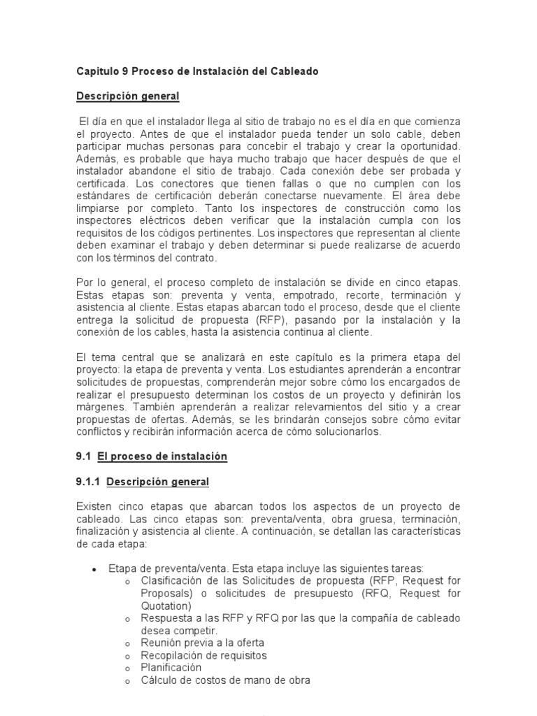 Material de Estudio - Capitulo 09 - Proceso de la Instalaci n del ...