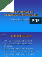 Aulas Virtuales en Proceso de Aprendizaje