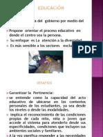 POLÍTICA  DE  EDUCACIÓN  INCLUSIVA