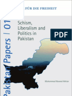 2012 FNF - Pakistan Papers 1 - Schism, Liberalis, and Politics in Pakistan