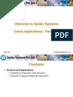 Flexfields Spider