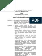 Perawat 1239 2001 Tentang Registrasi Dan Praktik Perawat