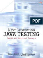 Next Generation Java Testing. TestNG and Advanced Concepts