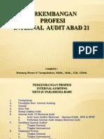Perkembangan Profesi Internal Audit Abad 21