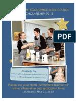 SHETA Scholarship Foods
