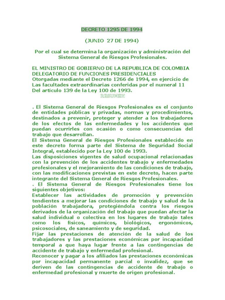 Decreto 01 de 1984 pdf colombia flag