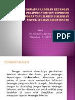 Pengungkapan Laporan Keuangan Interim, Pelaporan Emiten Beproses_pp