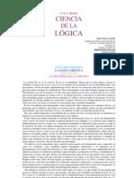 Hegell Ciencia de La Logica_ Libro_02_ La Esencia