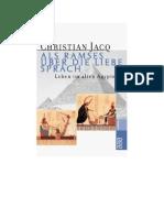 Jacq, Christian - Als Ramses über die Liebe sprach