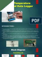 wireless temperature sensor and data logger