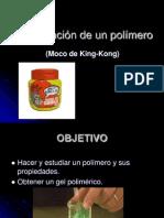 Elaboración de un polímero