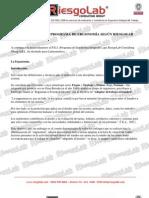 Programa de Ergonomia Integrado de Riesgolab 2012