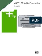 Manual Imprimanta HP Photosmart C6180 All-In-One