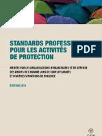 Standards professionnels pour les activités de protection menées par les organisations humanitaires et de défense des droits de l'homme lors de conflits armés et d'autres situations de violence