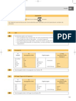 German Grammatik Tabellen