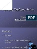Making Training Active-Slide Share