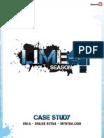 LIME 4 Case Study Myntra