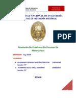 44740542 Problemas Procesos de Manufactura