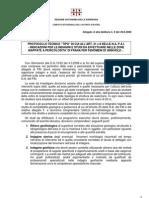 Sinkholes Sardegna-Protocollo tecnico