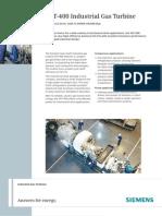 Siemens Gas Turbine for Mechanical Drive SGT-400