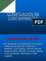 CLASIFICACION DE LOS CONTAMINANTES.ppt