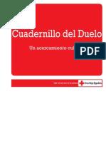 Cuadernillo Duelo. Un acercamiento cultural