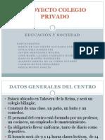 Proyecto Colegio Privado