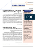 Standards of the WTO Agreement on Technical Barriers