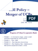 Rbi Policy Merger of u Cbs