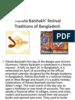 Pahela Baishakh' festival  Traditions of Bangladesh